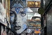 Graffiti / Graffities and wall paintings from all over the world