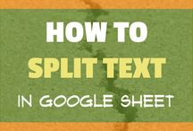 Google Sheets Tips / A collection of Google Sheets Tips and Tutorials