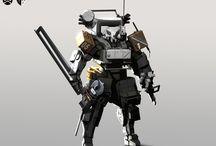 technological art / technologies, sci-fi, steampunk