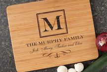 Personalized Cutting Boards / Personalized Cutting Boards engraved just for you!  Several cutting boards to choose from, great designs and easy to personalize.
