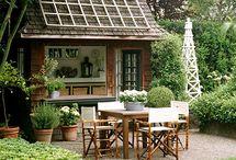 Backyard / by Jennifer O'Brien-City Farmhouse