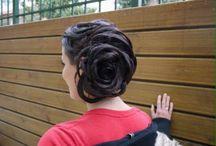 νυφικά χτενίσματα - bridal - wedding hairstyles / Νυφικό χτένισμα 190 € στο χώρο σας (με τρέσα και δοκιμαστικό) και 90 € στο χωρο του κομμωτηρίου.