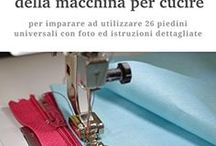 guida all'uso dei piedini su macchina da cucire