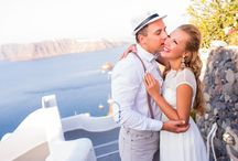 My Santorini Weddings / Wedding photo shootings in Greece on magic Santorini island