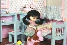 "style4doll - diorama ""candy"" for Amelia Thimble, Lati White, Lati White Sp. , Pukipuki, Little Pullip, Petite Blythe"