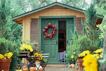 Garden Sheds / by Southern Lady's Teacup Poodles Smith