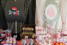 pirates and princess birthday party