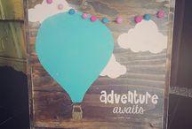 Hot air balloon crafts