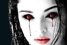halloween red eyes