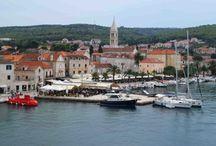 Insel Brač / Orte auf der Insel Brač, Dalmatien, Kroatien