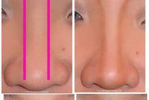 maquillaje de nariz