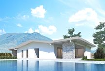 Evoluthion modern architecture /  Style of modern house in green building