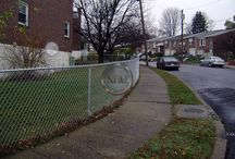 Chain Link Fence / Commercial and residential chain ink fences from the Philadelphia area and beyond.
