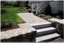 JLS Wonderful Walkways / Client walkway projects for homeowners, colleges, and commercial properties.