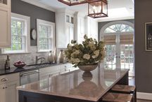kitchen island ideas / by Rhiannon Massengale
