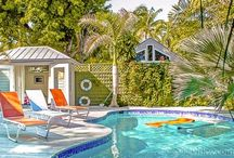 Abaco Dreams ~ Key West Vacation Rental ~ Weekly Rental 3BR (plus Den) 2 BA ~ Sleeps 6 - 8 / Authentic 'old-world' charm meets modern tropical luxury in this wonderful historic island home, Abaco Dreams. Winter - $3800. per wk. Shoulder - $3450. per wk/. Summer $3250. per wk/