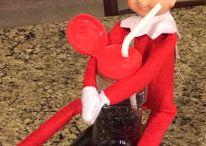 Creepy Elf Sucked Me In / by Tiffany Stevens