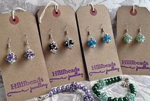 Hillibeads Jewellery Range / An eclectic selection demonstrating the amazing versatility of beads large and small.