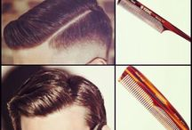 Pomade and Hair Style