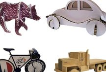 Cardboard toy and crafts