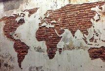 630 Карта мира