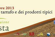 Tartufesta Montaione / l 26 e 27 Ottobre a Montaione si terrà la Tartufesta, mostra del tartufo e dei prodotti tipici. Ogni ristorante proporrà un menu a base di tartufo.
