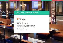 Slate on ExpressBook / Book this experience: Two Hours of Food, Games & Open Bar in the West Lounge https://venuebook.com/venue/91/slate/ / by VenueBook