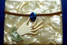 Jewellery + / Samples of our vintage costume jewellery and more. http://www.gillianhorsup.com/