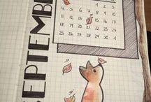 Bujo september