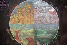 Four Seasons / Four Elements