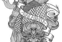 Dessins Noir & Blanc / Tous les dessins noir et blanc sont répertoriés ici.