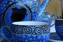 Pratos,  copos e xícaras