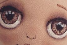 olhos  bonecas