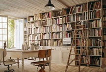 Casa Mia / So what if it's all black, white, blue and green? Those are my signature colors. And yes. There are too many books. If that's even possible.
