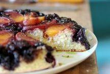 blueberry upside down cake
