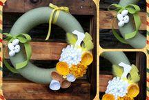 Easter 2015 / Handmade wreaths Easter