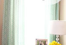 diy curtain panels / by Jeanne Monaco