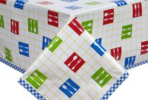 Kitchen Pattern Tablecloths