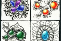 Kresba šperků, kamenu˚