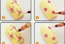 flores para manicure