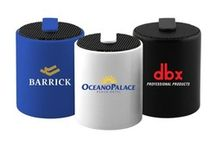Customized Bluetooth Speakers / Custom printed wireless Bluetooth speakers are excellent business gifts for business associates, clients and employees.  View our wide range of Blue tooth speakers, all of which can be custom printed with your logo.
