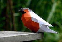 Papercraft 3D Sculptures