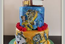 Beauty and the Beast Cakes / Beauty and the Beast cakes