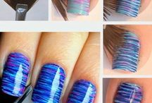 Nails / Art nails for teenager girls Summer or winter❄️ step by step They are so cool & easy