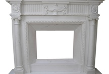 portale marmurowe obudowy kominkowe