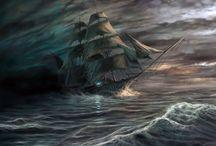 Пираты / море, пираты, жестокость, романтика, фантастика