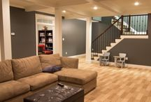 Idea's for my post flood basement   / by Shantelle Nichol