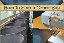 Grow bags to sew