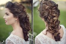 wedding hair and exc...