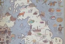 MAPS poster book and more! / A collection of our favourite MAPS poster book bits and bobs, plus a general love of Maps!